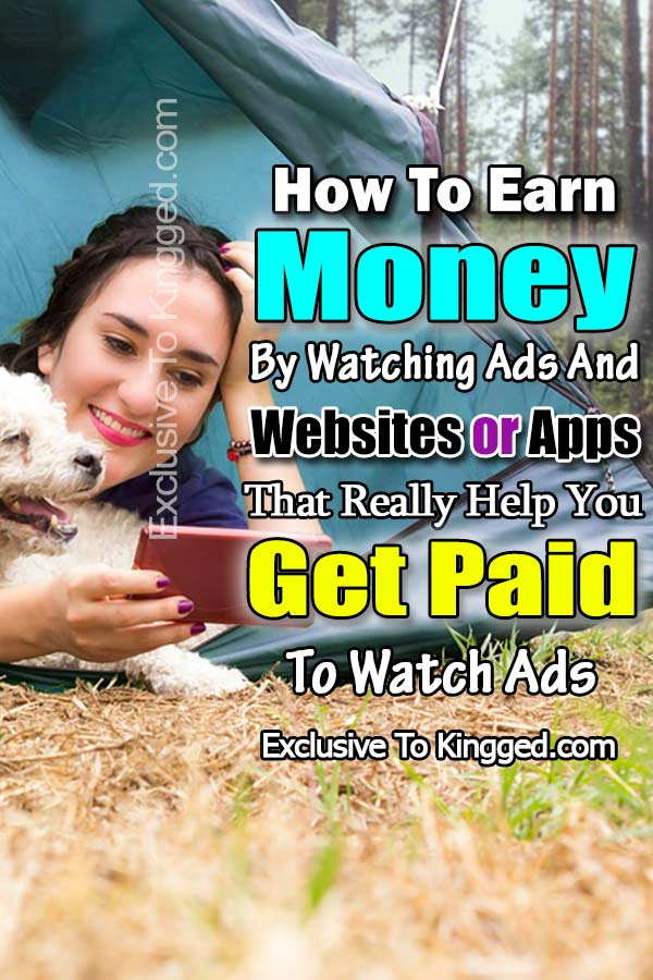how to earn money watching ads