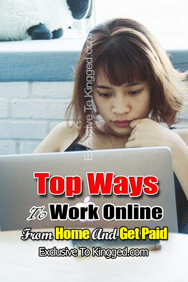 work online from home and get paid