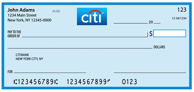 bank routing transit numbers - Citibank