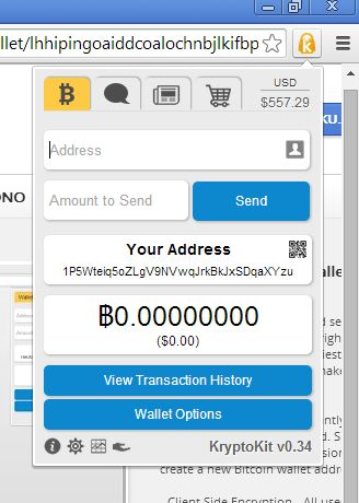 bitcoin wallet extensions google chrome